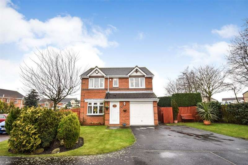 4 Bedrooms Detached House for sale in Cheviot Court, Seaham, Co Durham, SR7