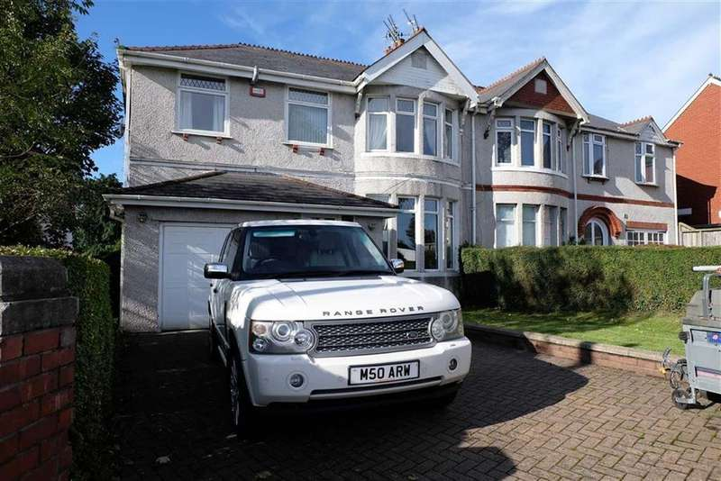 4 Bedrooms Semi Detached House for sale in Colcot Road, Barry, Vale Of Glamorgan