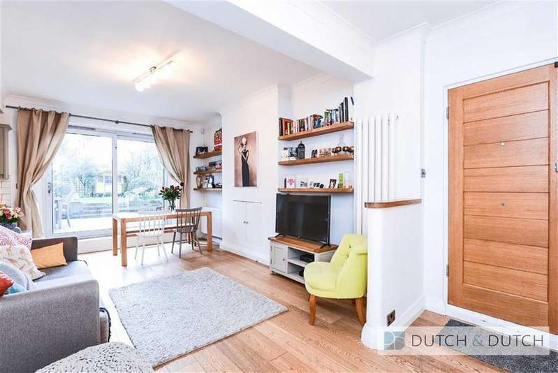 3 Bedrooms Flat for sale in Priory Road, West Hampstead, London
