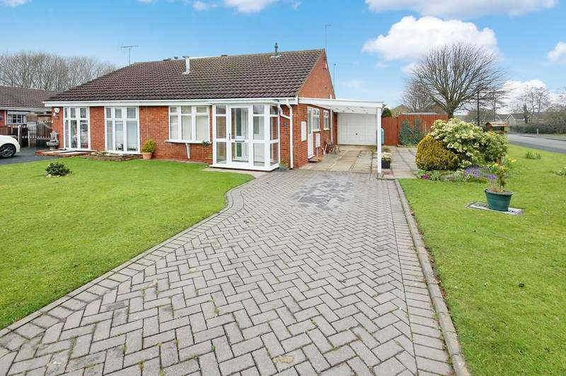 2 Bedrooms Detached House for sale in Cook Close, Perton, Wolverhampton WV6