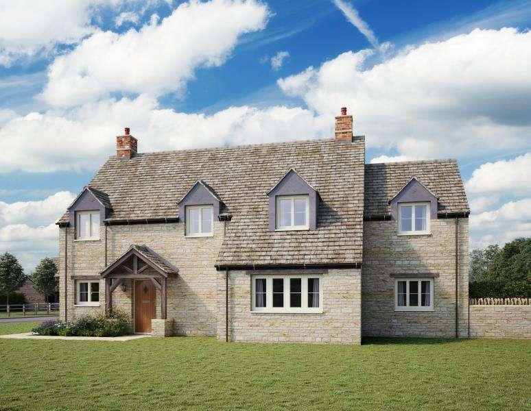 5 Bedrooms Detached House for sale in Plot 1, Tanners Lane, Burford
