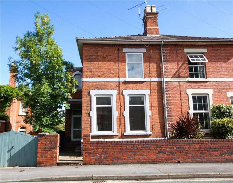 4 Bedrooms Semi Detached House for sale in Chestnut Walk, Worcester, Worcestershire, WR1