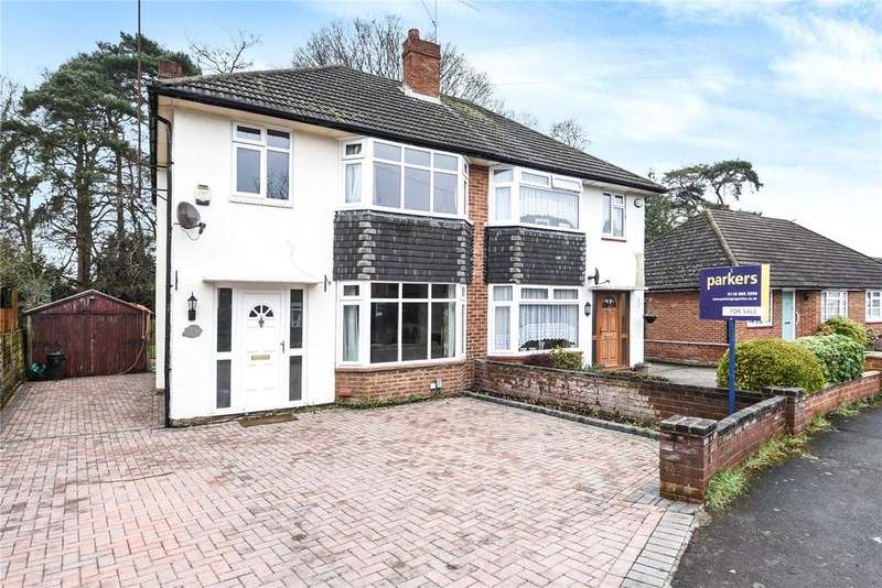 3 Bedrooms Semi Detached House for sale in Fawcett Crescent, Woodley, Reading, Berkshire, RG5