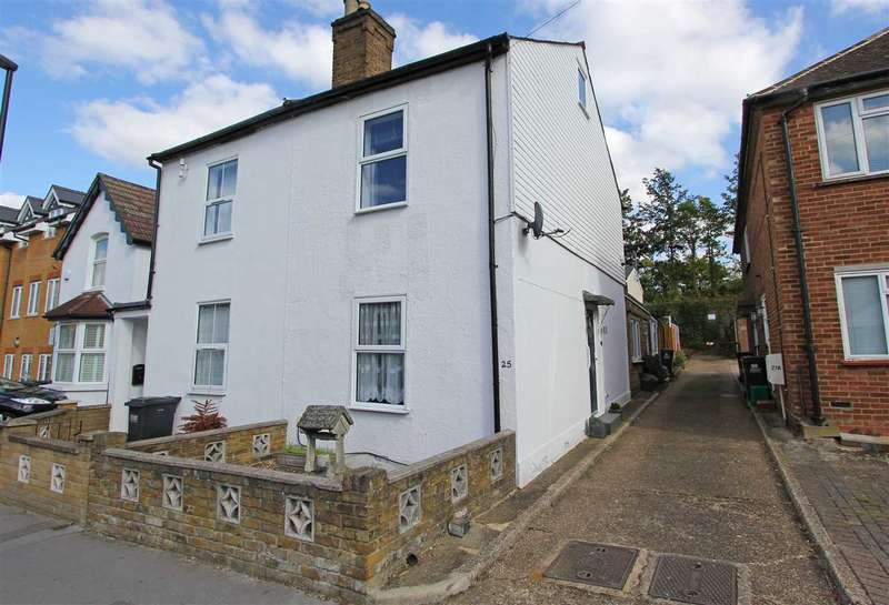 2 Bedrooms Semi Detached House for sale in St Peters Street, South Croydon