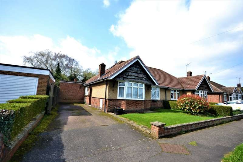 3 Bedrooms Semi Detached Bungalow for sale in Ashtree Way, Duston, Northampton, NN5