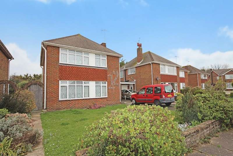 3 Bedrooms Link Detached House for sale in Cumberland Avenue, Goring-by-sea, Worthing BN12 6JX