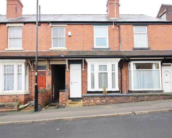 2 Bedrooms Terraced House for sale in Furnace Lane, Woodhouse, Sheffield, S13 9XE