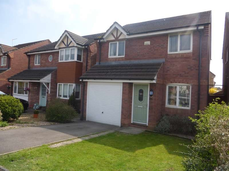 3 Bedrooms Detached House for sale in Aston Place, St. Mellons, Cardiff