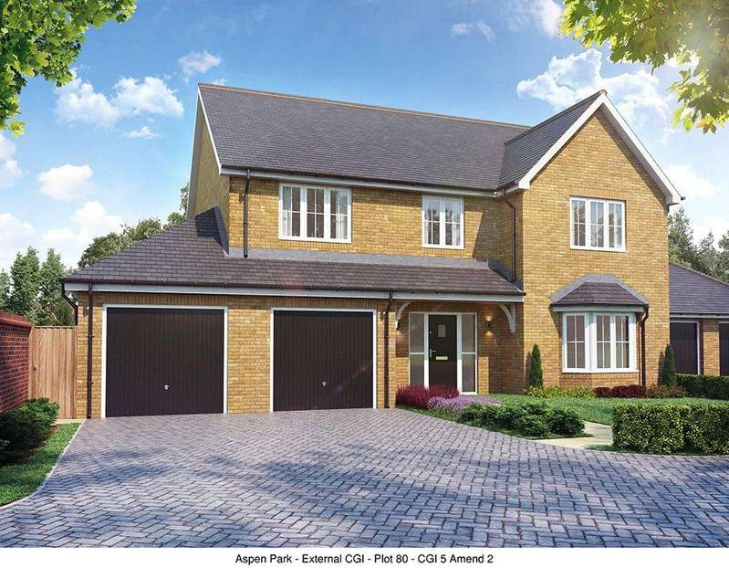5 Bedrooms Detached House for sale in Plot 10 Aspen Park, Haddenham, Aylesbury, Buckinghamshire, HP17
