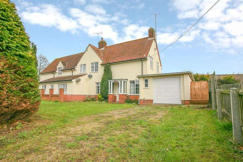 3 Bedrooms Semi Detached House for sale in Orford Road, Tunstall, Woodbridge