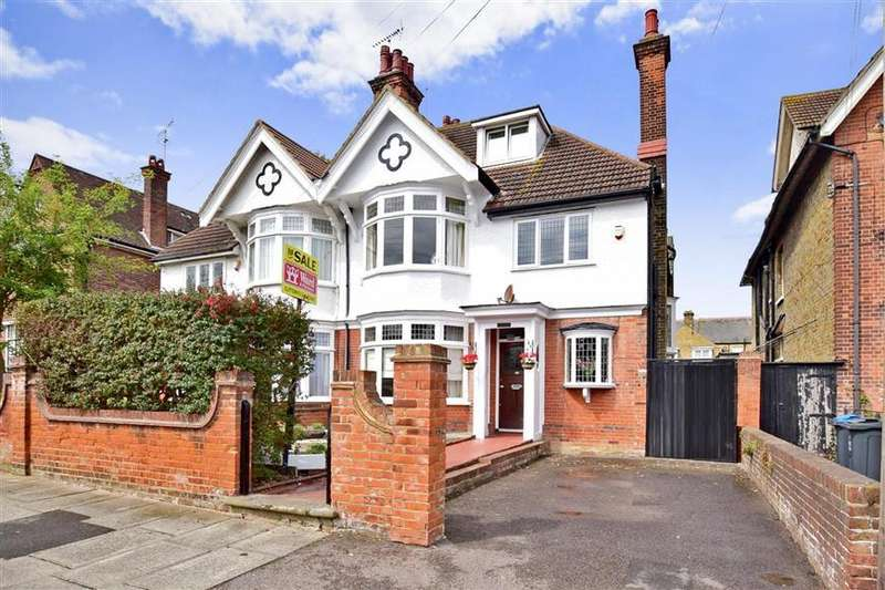 5 Bedrooms Semi Detached House for sale in Cornwall Gardens, Cliftonville, Margate, Kent