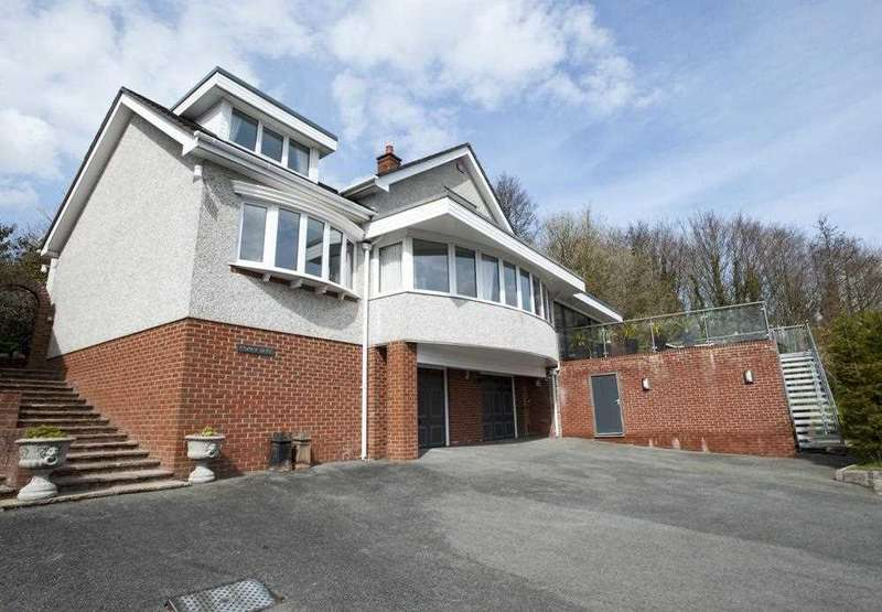 4 Bedrooms Detached House for sale in Copar Bryn, 12 Glyn Garth Mews, Glyn Garth
