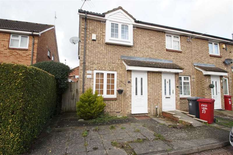 2 Bedrooms End Of Terrace House for sale in Boulters Close, Windsor Meadows, Cippenham