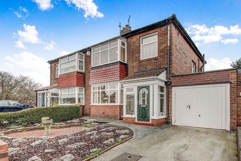 3 Bedrooms Semi Detached House for sale in Kings Road South, Wallsend, NE28