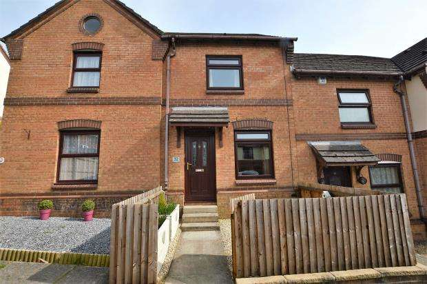 2 Bedrooms Terraced House for sale in Walnut Drive, Plympton, Plymouth, Devon