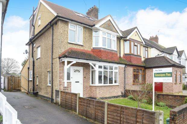 4 Bedrooms Semi Detached House for sale in New Haw, Surrey
