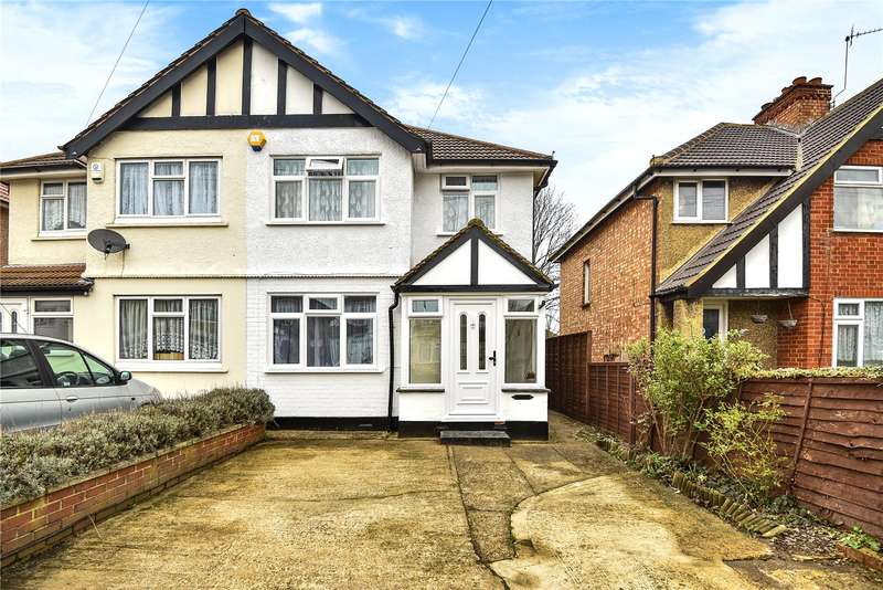 3 Bedrooms Semi Detached House for sale in Weald Road, Hillingdon, Middlesex, UB10
