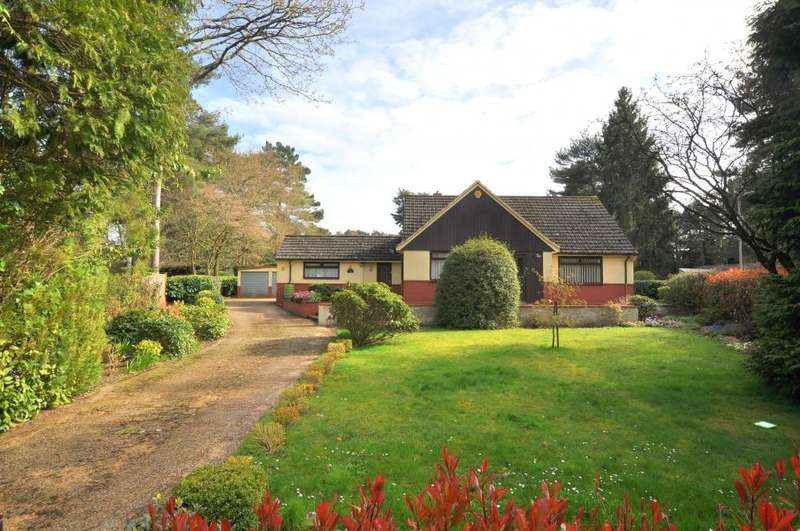 4 Bedrooms Detached House for sale in Ashley Heath, Ringwood, BH24 2JL