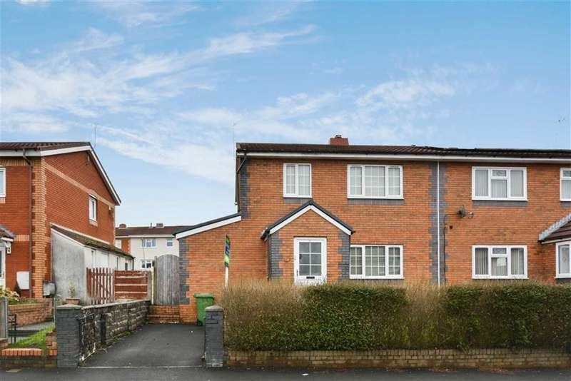 3 Bedrooms Semi Detached House for sale in Holly Street, Pontypridd, Rhondda Cynon Taff