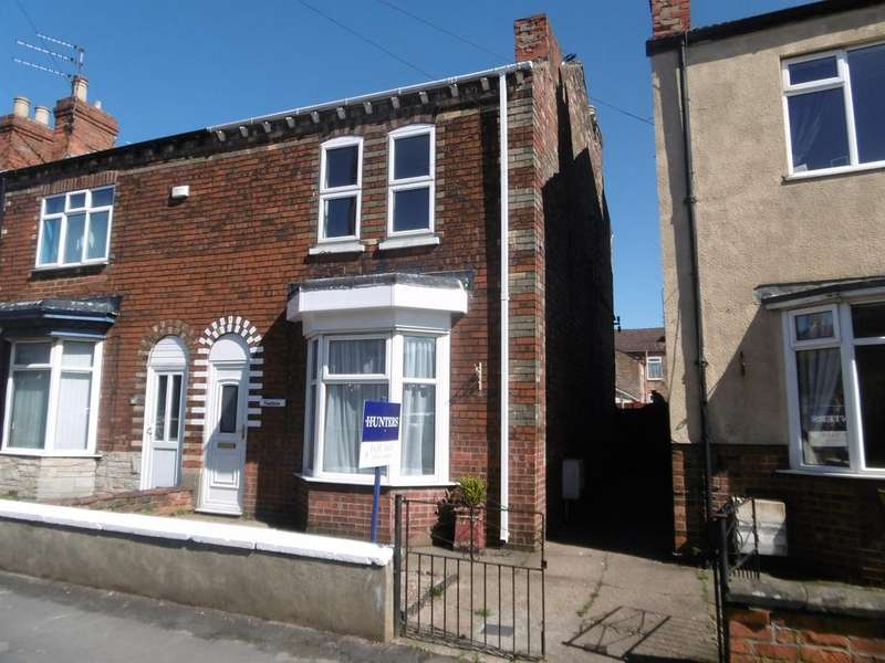 3 Bedrooms Semi Detached House for sale in Lincoln Street, Gainsborough, DN21 2LD