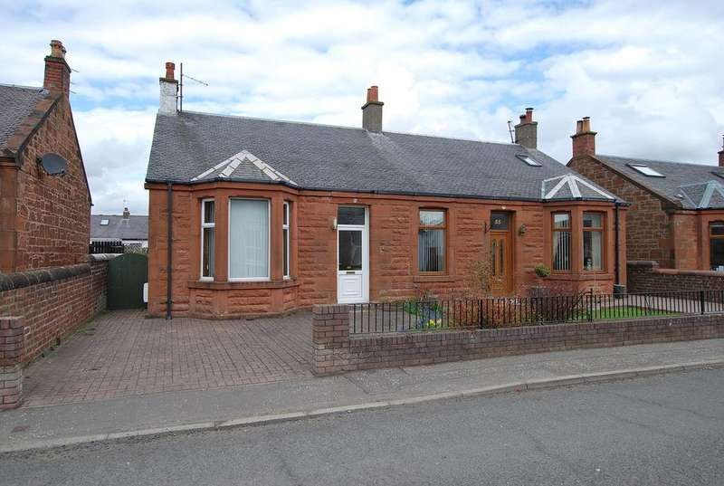 3 Bedrooms Semi Detached Bungalow for sale in 53 Briarhill Road, PRESTWICK, KA9 1HZ