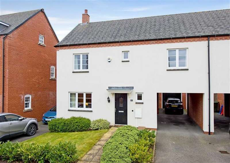 4 Bedrooms Semi Detached House for sale in 10, Deacons Field, Brewood, Stafford, ST19