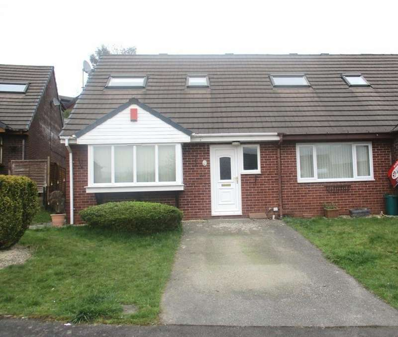 2 Bedrooms Semi Detached House for sale in Brynderwen, Cwmdare, Aberdare