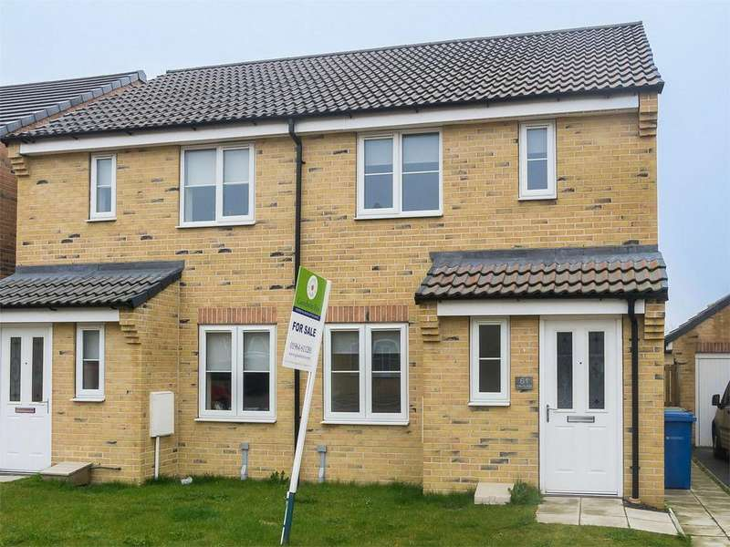 2 Bedrooms Semi Detached House for sale in The Glade, WITHERNSEA, East Riding of Yorkshire