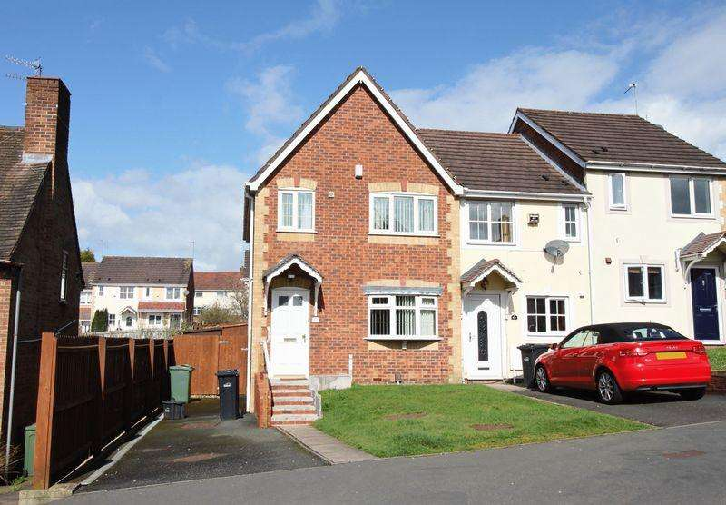 3 Bedrooms End Of Terrace House for sale in Ellowes Road, Dudley, DY3 2LB