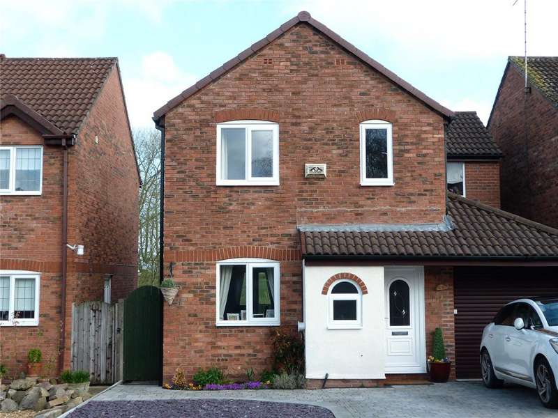4 Bedrooms Detached House for sale in Shelburne Drive, Haslington, Crewe, Cheshire, CW1