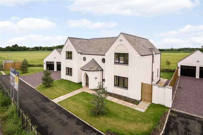 5 Bedrooms Detached House for sale in Chester Road, Marford, Nr Wrexham, LL12