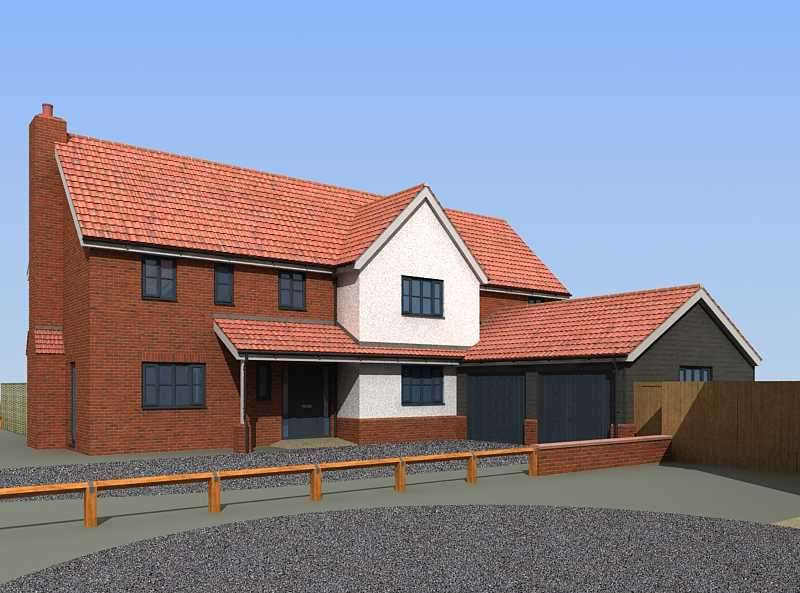 4 Bedrooms Detached House for sale in Mill Farm, Belstead Village, Ipswich