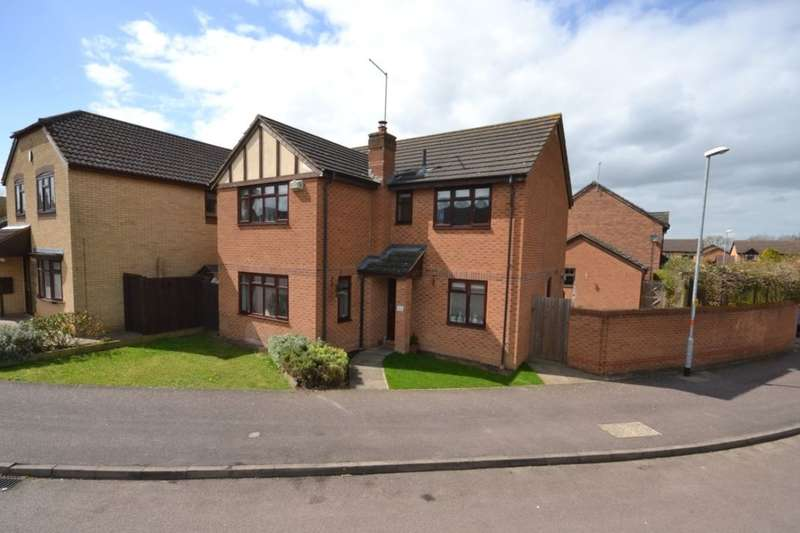 4 Bedrooms Detached House for sale in Excelsior Gardens, Duston, Northampton, NN5