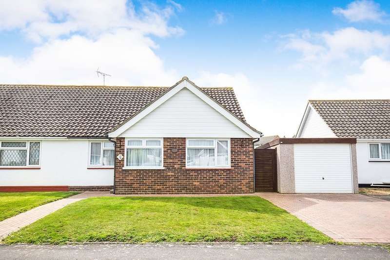 2 Bedrooms Semi Detached Bungalow for sale in Leonora Drive, Bognor Regis, PO21