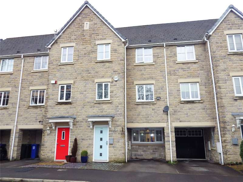 4 Bedrooms Terraced House for sale in Spring Mill Drive, Mossley, Ashton-under-Lyne, OL5