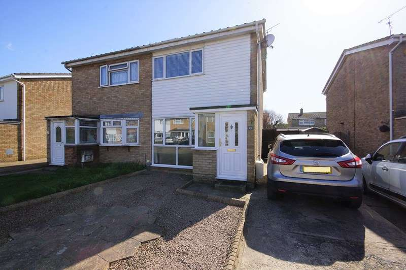 2 Bedrooms Semi Detached House for sale in Vermeer Crescent, Shoeburyness, Southend-On-Sea