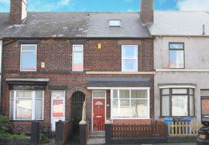 3 Bedrooms Terraced House for sale in Shoreham Street, Sheffield, South Yorkshire