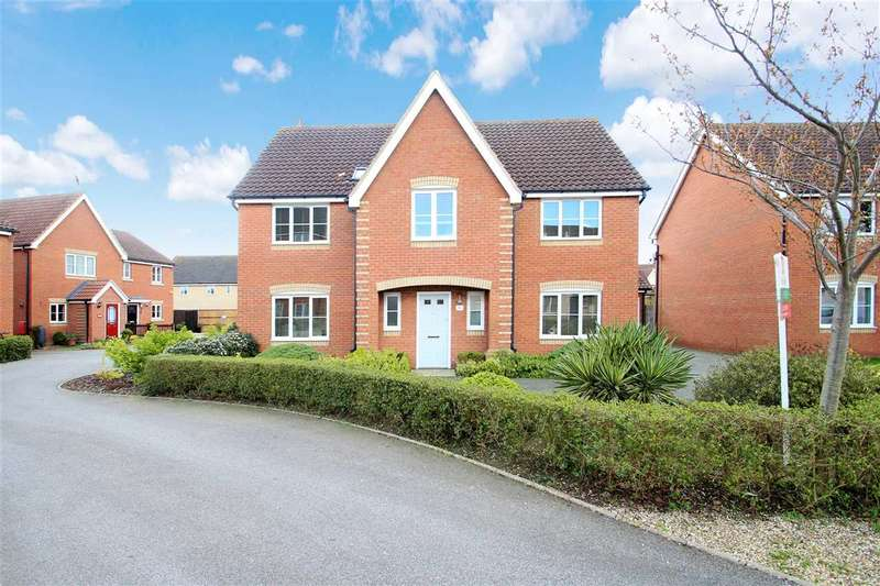 5 Bedrooms Detached House for sale in Jennings Drift, Grange Farm, Kesgrave, Ipswich