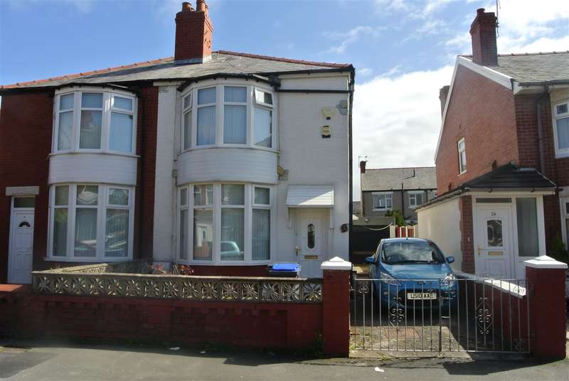 2 Bedrooms Semi Detached House for sale in Dunelt Road, Blackpool