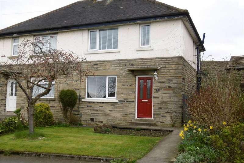 2 Bedrooms Semi Detached House for rent in Towngate Avenue, Clifton, Brighouse, HD6