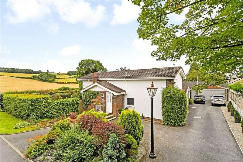 3 Bedrooms Detached Bungalow for sale in Scarsdale Ridge, Bardsey, Leeds, West Yorkshire