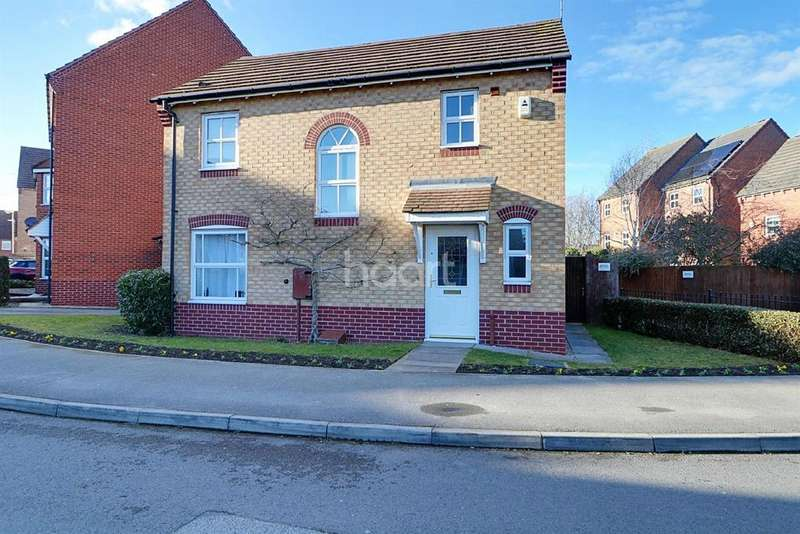 3 Bedrooms Detached House for sale in John Gold Avenue, Newark