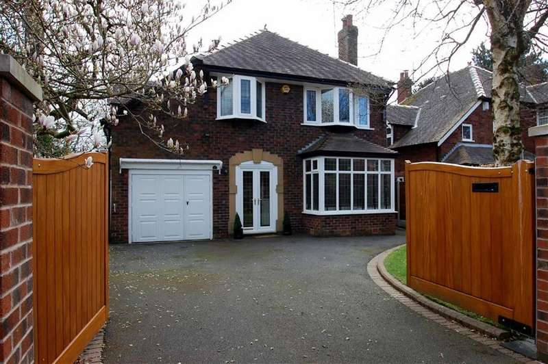 4 Bedrooms Detached House for sale in South Parade, Bramhall, Cheshire
