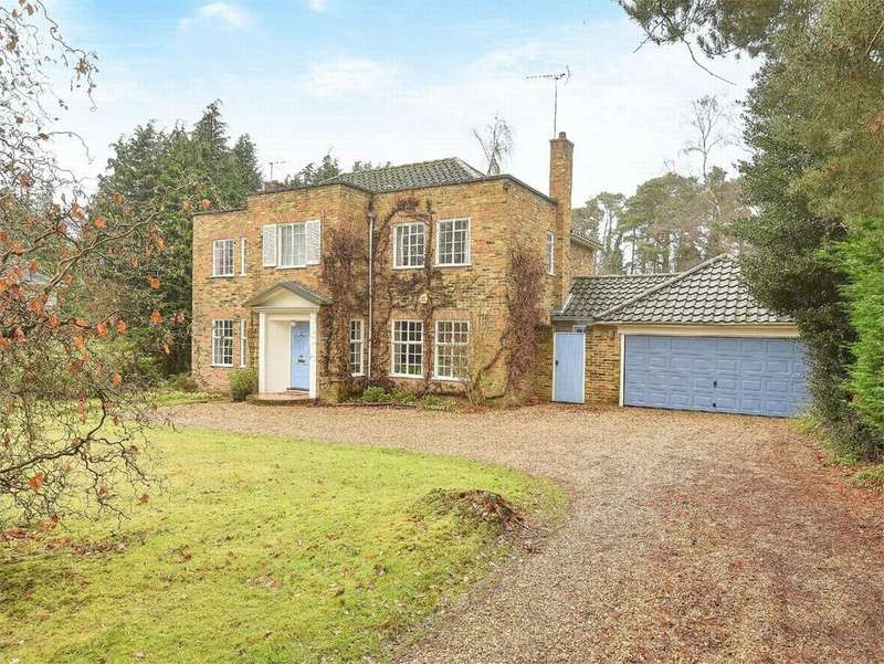 5 Bedrooms Detached House for sale in Springfield Road, Camberley, Surrey