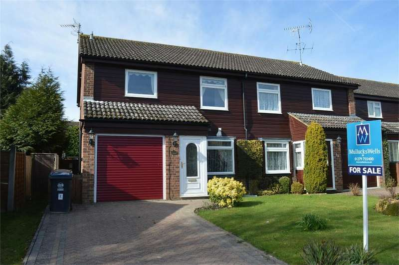 4 Bedrooms Semi Detached House for sale in 83 Wentworth Drive, Bishop's Stortford