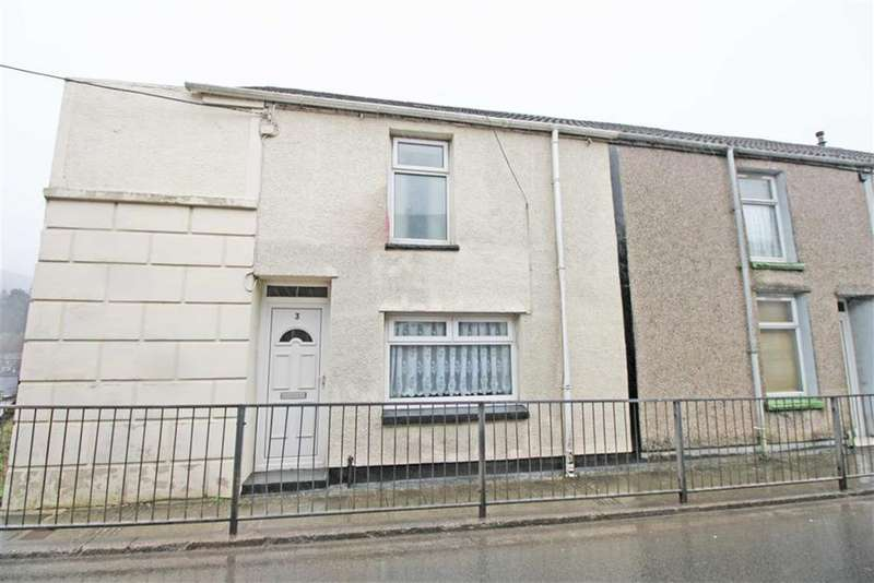 2 Bedrooms End Of Terrace House for sale in Glanaman Road, Cwmaman, Aberdare, Mid Glamorgan