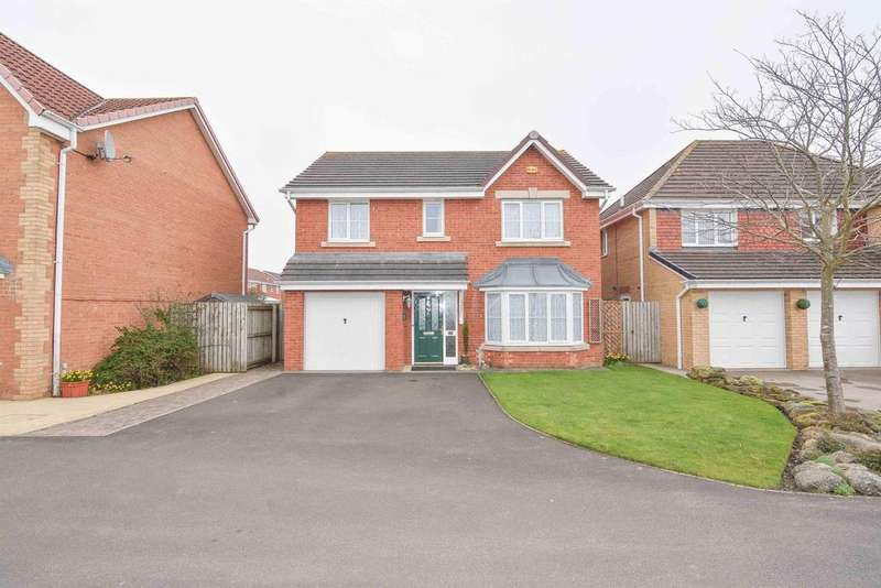 4 Bedrooms Detached House for sale in Cotherston Close, Consett, DH8 7UE