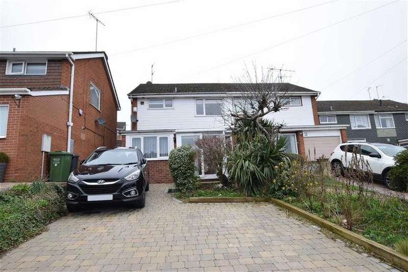 3 Bedrooms Semi Detached House for sale in Coningsby Drive, KIDDERMINSTER