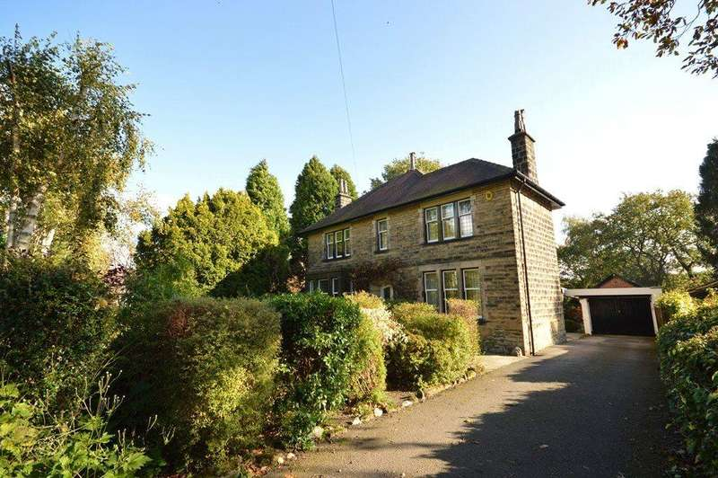 4 Bedrooms Detached House for sale in Greystones, Outwood Lane, Horsforth, Leeds, West Yorkshire