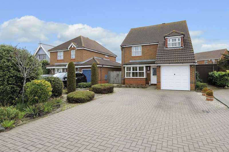 4 Bedrooms Detached House for sale in Reculver Road, Beltinge, Herne Bay, Kent